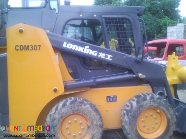 CDM307 Skid Loader LONKING ! (Bucket Capacity-0.43m³)