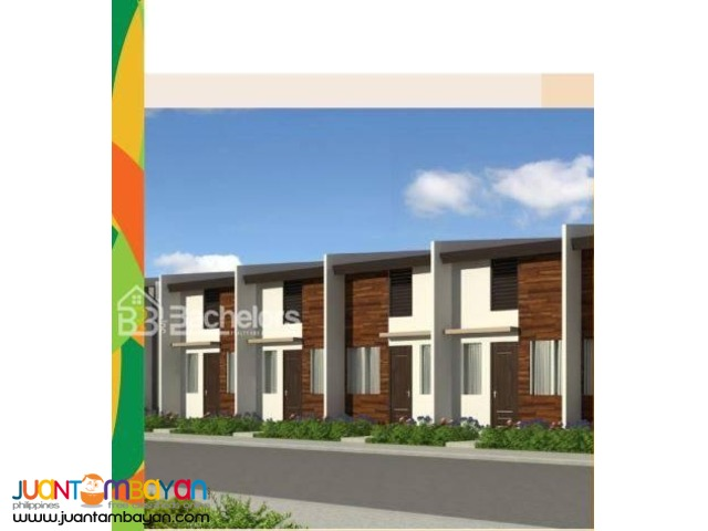 Rowhouse as low as P2,555k monthly amort in Carcar Cebu