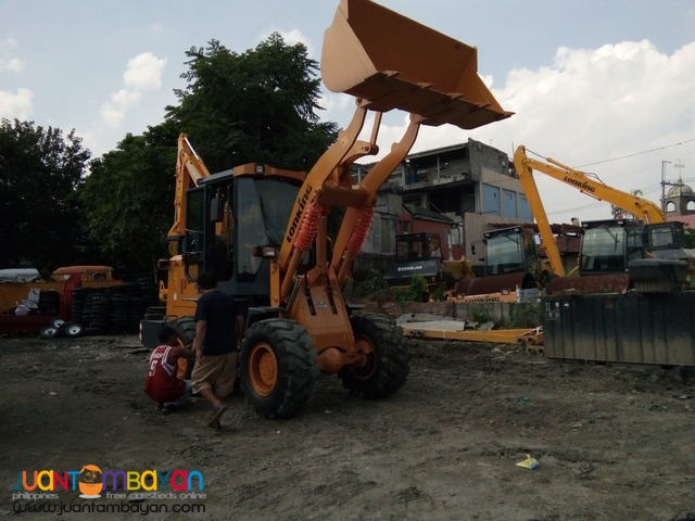 Payloader 1m³ Wheel Yituo Engine Lonking STD15 Brand New!