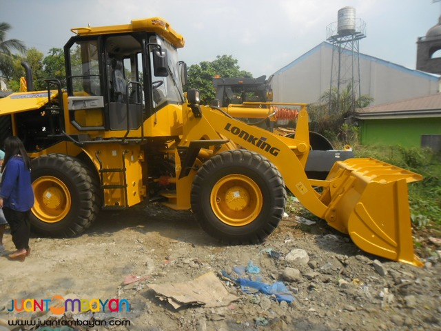 Payloader 1.8m³ Wheel Loader CDM85 Lonking Brand New !