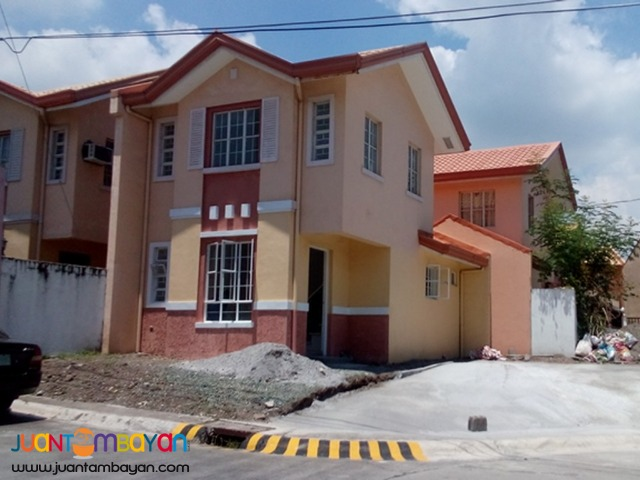 RFO house and lot for sale in Camella Daang-Hari Molino Bacoor Cavite
