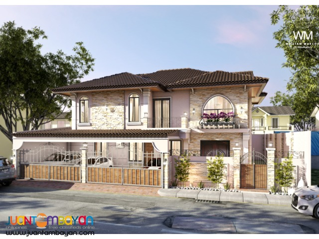 MODERN HOUSE AND LOT FOR SALE IN PORTOFINO DAANG-HARI ALABANG (RFO)