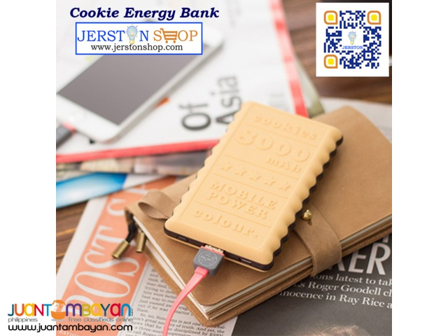 POWERBANK: Cookie Energy Bank