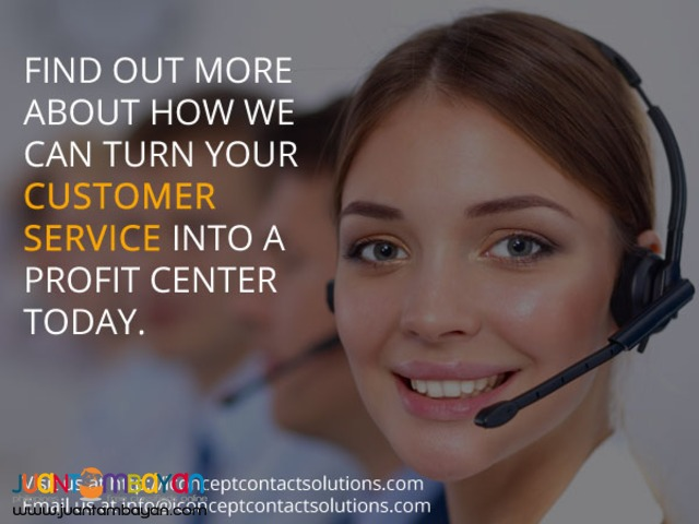 Customer Service Advert
