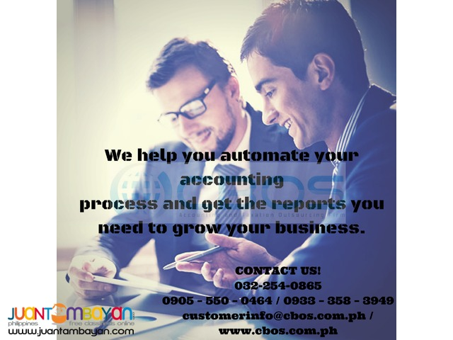 Automated accounting process @ CBOS
