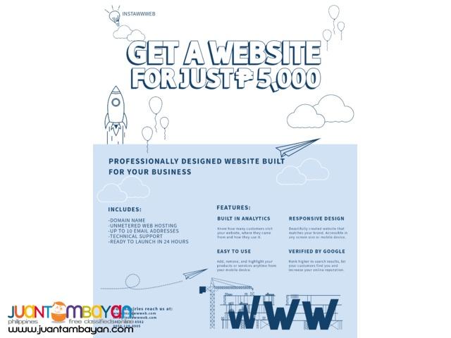 Cheap Website for Business Start-Ups / Small-Medium Enterprise