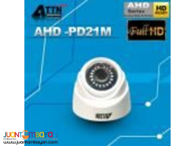 ATTN CCTV AHD-PD21M 1080P 2.1mp Dome Camera