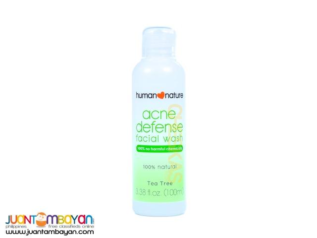 Human Heart Nature Acne Defense Facial Wash