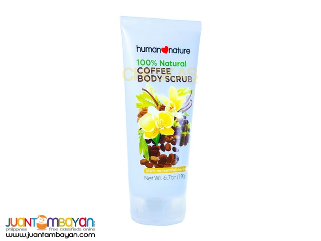 Human Heart Nature Coffee Body Scrub