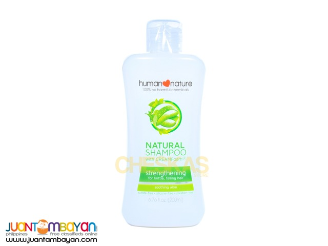Human Heart Nature Natural Shampoo Strengthening 200ml