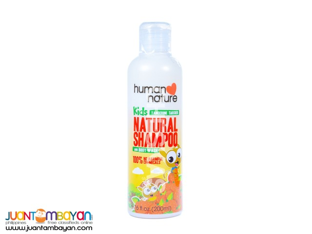 Human Heart Nature Kids Natural Shampoo and Body Wash