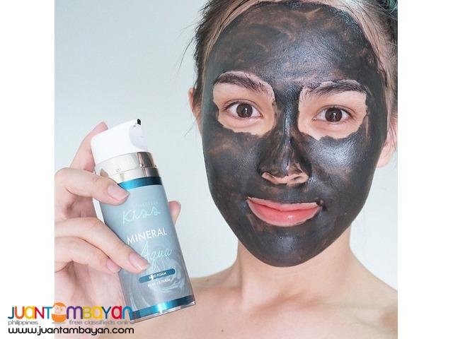 Kiss Mineral Mud Foam facial cleanser