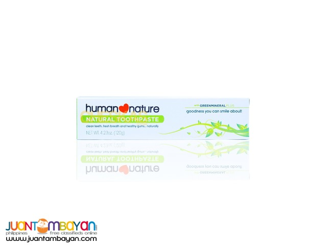 Human Heart Nature Natural Toothpaste