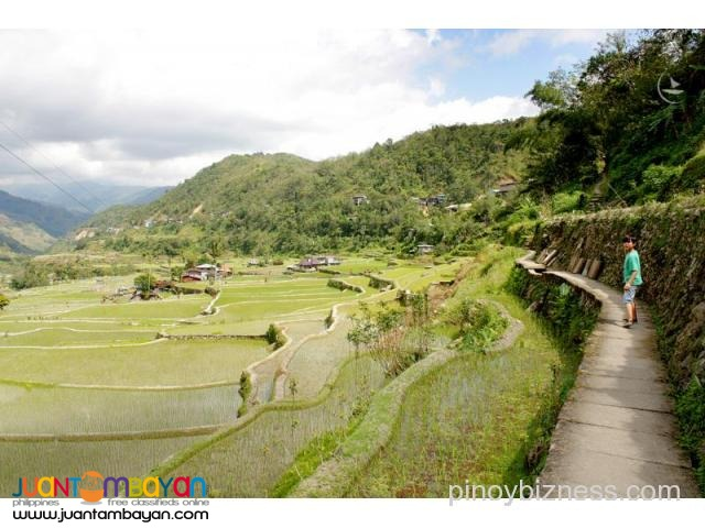 Banaue tour, awarded for its mountain ecology