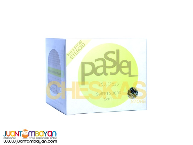 Pasjel Sweet Sugar Scrub (for face and body)