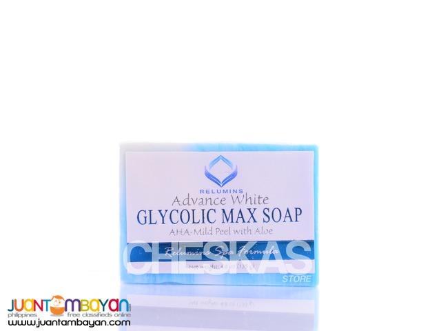 Relumins Advance White Glycolic Max Soap