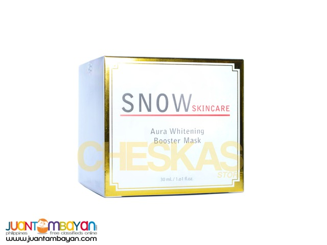 Snow Aura Whitening Booster Mask