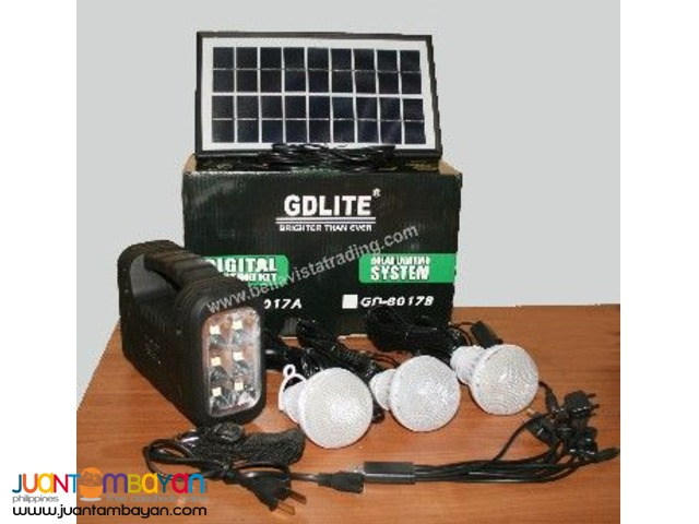 Solar Lighting Kit - GDLITE - 8018 Solar Package