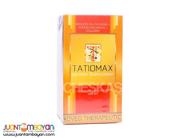Tatiomax Glutathione Capsule 30 days supply 1600mg