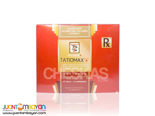 Tatiomax Plus Glutathione IV + Collagen and Vitamin C