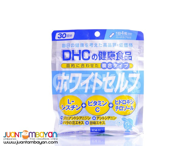 Dhc Whiteself L- Cysteine Whitening Supplement 30 days supply