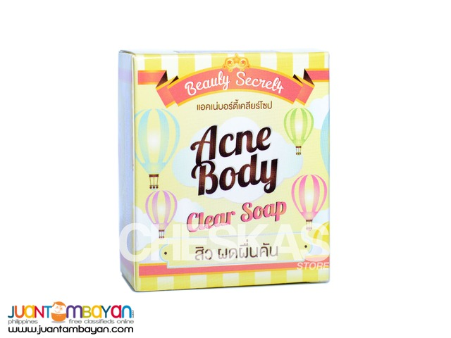 Acne Body Clear Soap 2