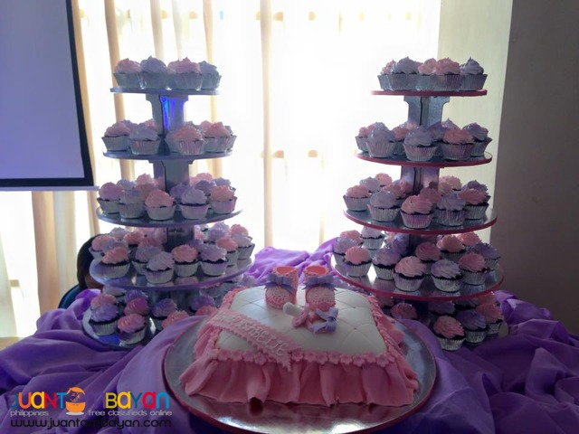 Affordable Customized Baptismal Cake