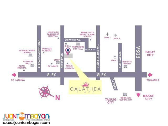 Resort type Condo in Paranaque   Calathea Place by DMCI