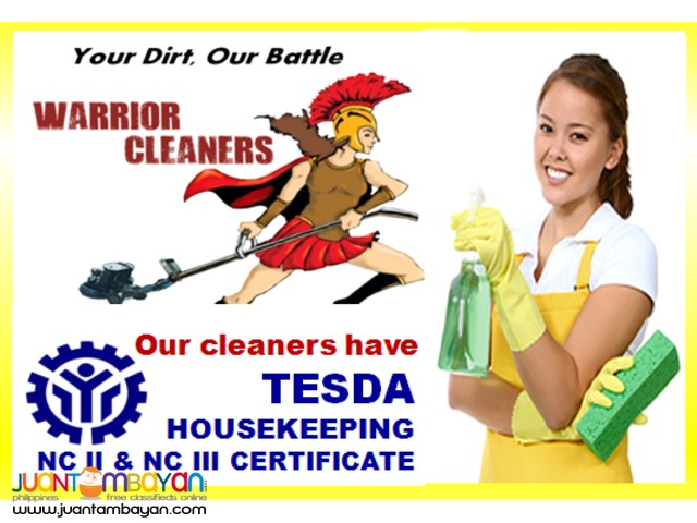 Cleaning Services for House, Condo, Office and Shop