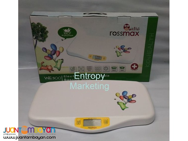 Rossmax Digital Baby Weighing Scale