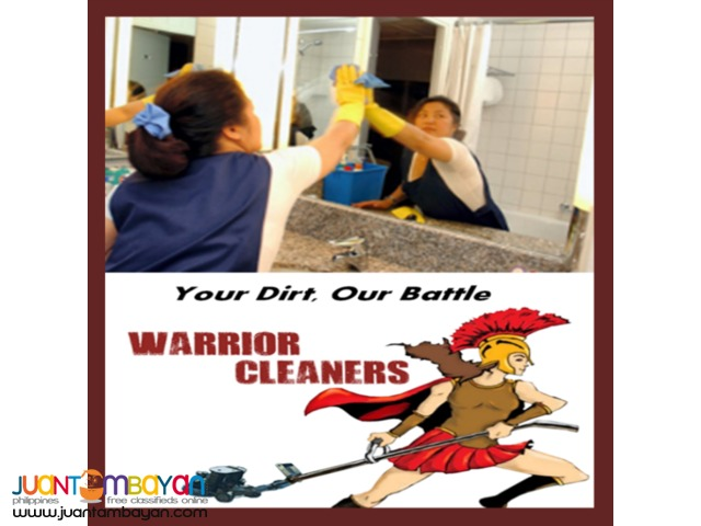Condo, Townhouse, Office and Shop Cleaning Services