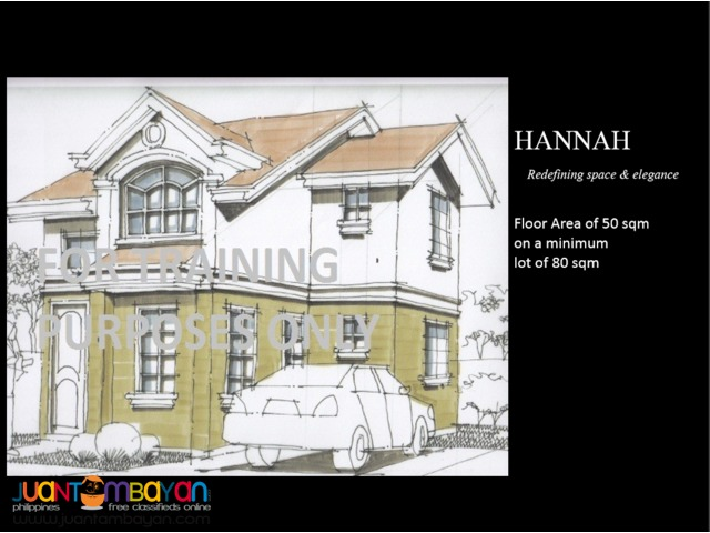 Terraverde Residences House & Lot for Sale in Carmona, Cavite