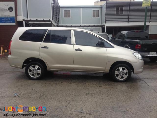 2008 Toyota Innova E Automatic
