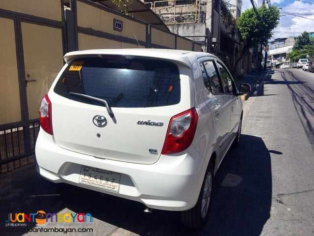 2016 Toyota Wigo 1.0 G Automatic 6,000km