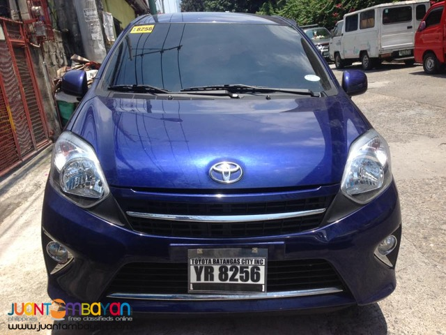 2016 Toyota Wigo 1.0G A/T 6,000km