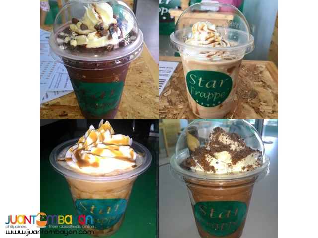 Zagu Franchise Star Frappe Food Cart Franchise 99k Only