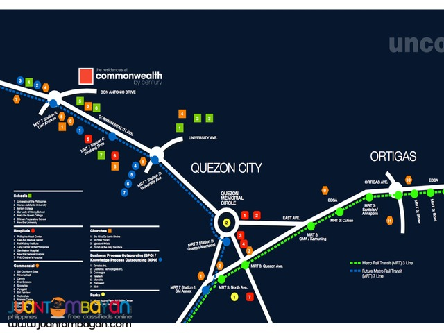 Unit For Sale in The Commonwealth Residences, Quezon City