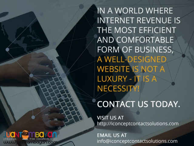 Website Design Advert
