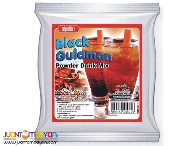 Black Gulaman Drink