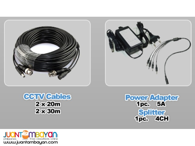 CCTV CAMERA PACKAGE 8 Channel