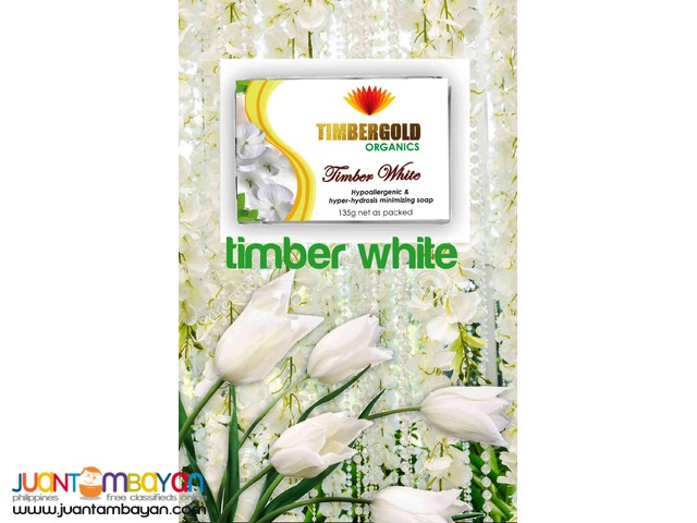 Timber White Soap