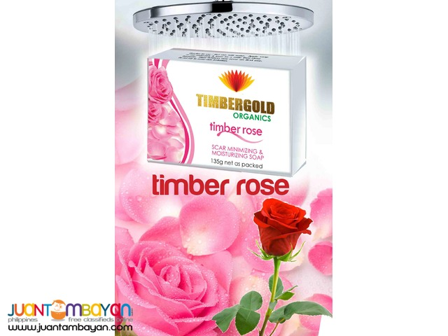 Timber Rose Soap