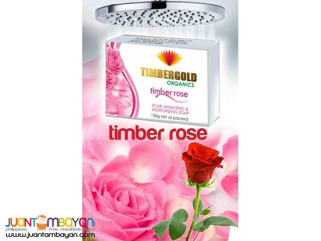 Timber Rose Soap