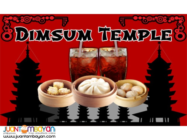Siomai House Franchise Dimsum Temple Food Cart Franchise 59k Only