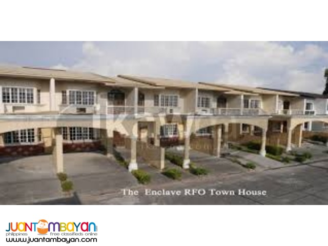 3 BedRoom Townhouse BF Paranaque Ready for Occupancy