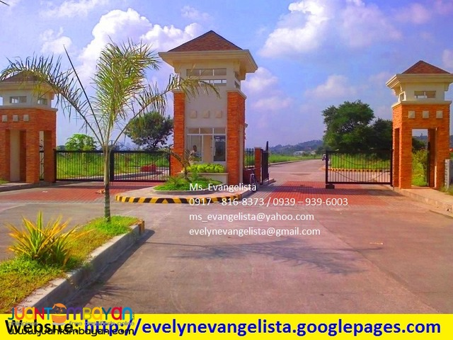 Woodridge Heights Res. Lot @ P 10,500/sqm.