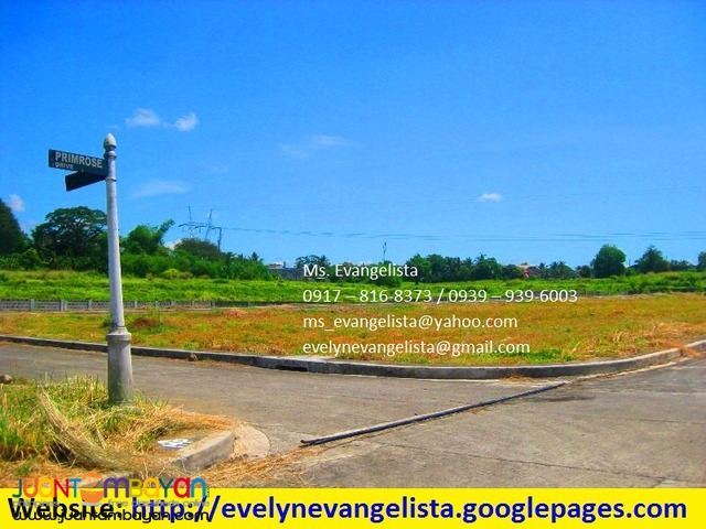 Glenrose North Res. Estates P 5,500/sqm.