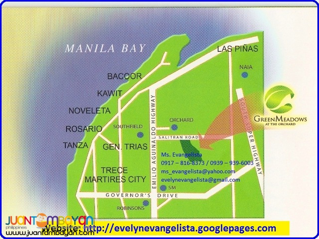 Greenmeadows at the Orchard 2 @ P 6,200/sqm.