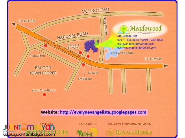 Meadowood Phase 3B @ P 8,500/sqm. NIYOG Share Only