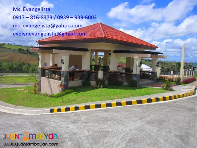 Villa Chiara Res. Estates @ P 8,000/sqm. Tagaytay City